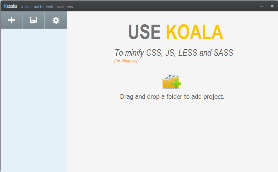 How to minify CSS, JS, LESS, SASS?